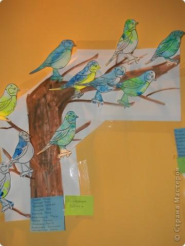 Первые птички,этой весной:) Коллективная работа. фото 2