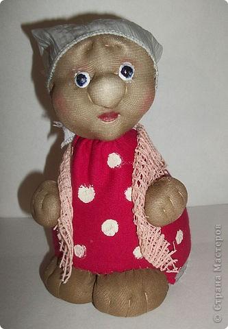 Моя первая куколка.