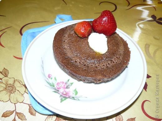 Пирог в чашке фото 3