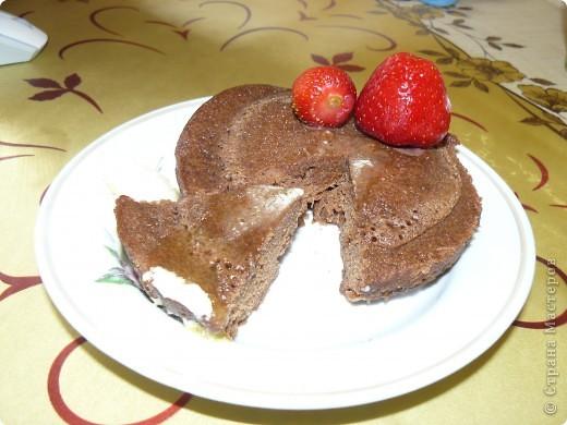 Пирог в чашке фото 1