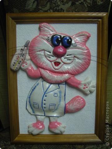 Кошка-врачишка.