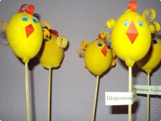 Цыплятки на палочках фото 3