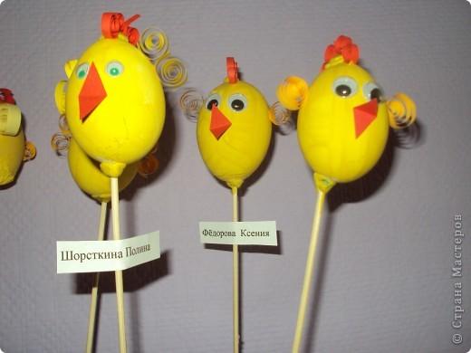 Цыплятки на палочках фото 2
