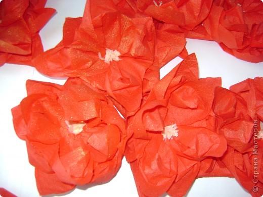 Вот так мы украсили класс на юбилей преподавателя. Плакат выполнили быстро из салфеток методом оригами. Получилось очень нарядно и торжественно. Буквы проторцевали. фото 3