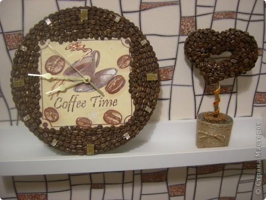 """Кофейные часы в мою """"кофейную"""" кухню. фото 1"""
