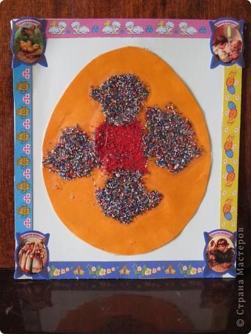 Вот такие открыточки получились у нас с детками (3 и 4,5) к Пасхе! фото 4