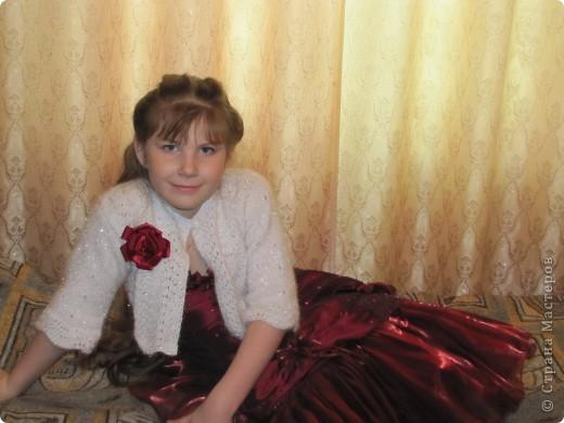 Болеро для доченьки. фото 1