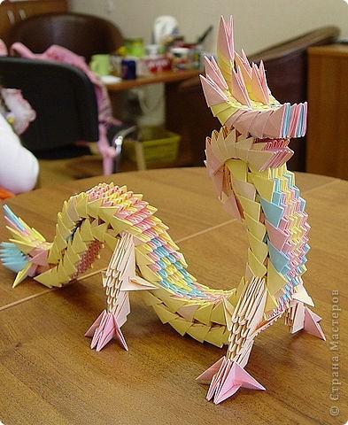 Поделка изделие Оригами Сад