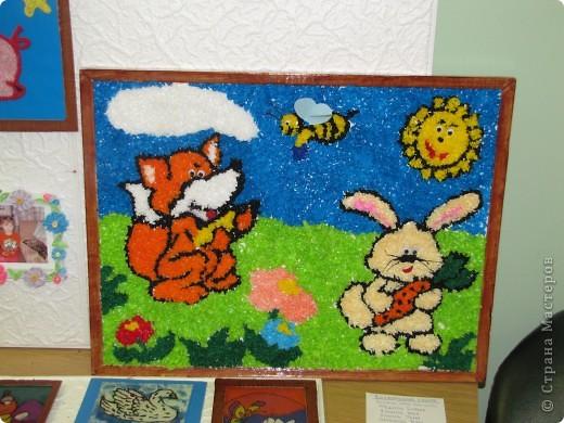 """Картина сделана на кружке """" Умелые ручки"""" мальчишками 1-го и 2 класса. фото 1"""