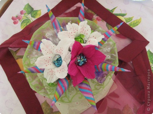 Sladkii byket iz lilii