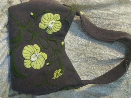 Сумка орхидея фото 7