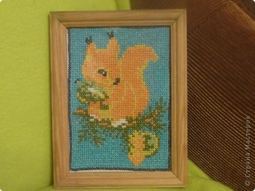 вышивка крестом животные фото 2