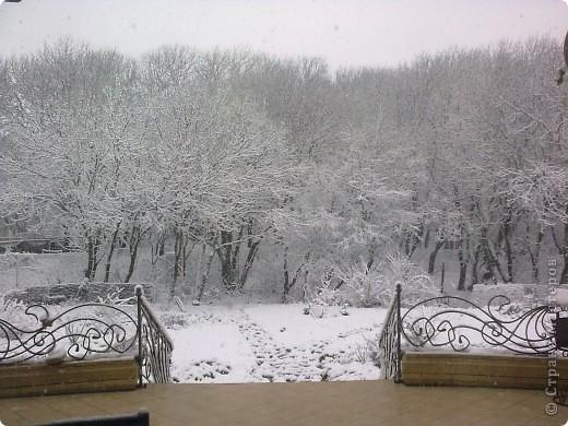Вчера утром (21 апреля) ЮГ РОССИИ! Выглянув в окно , я обнаружила вот такой пейзаж.  фото 2