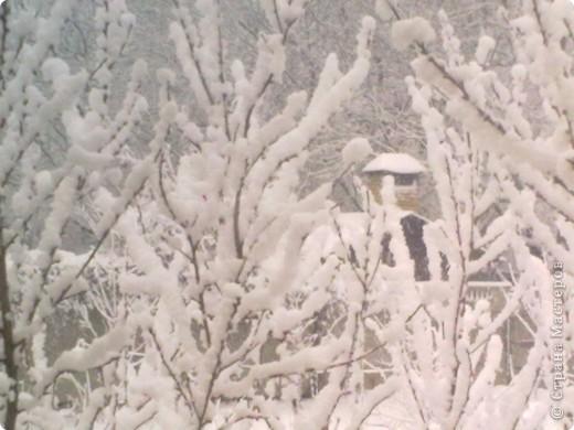 Вчера утром (21 апреля) ЮГ РОССИИ! Выглянув в окно , я обнаружила вот такой пейзаж.  фото 3