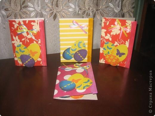 Попробовали с дочуркой изготовит объемные открыточки. Вот результат