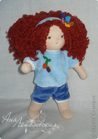 Кукла в пижамке)) фото 3