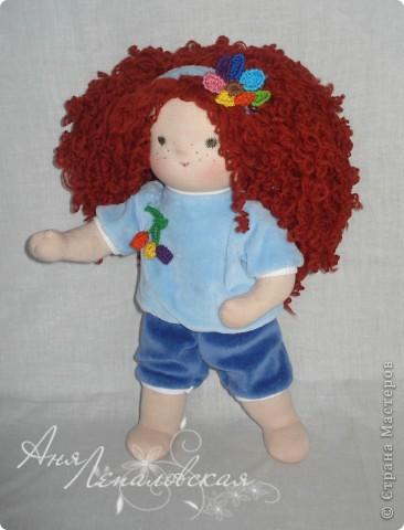 Кукла в пижамке)) фото 2