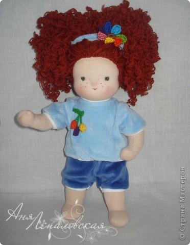 Кукла в пижамке)) фото 4