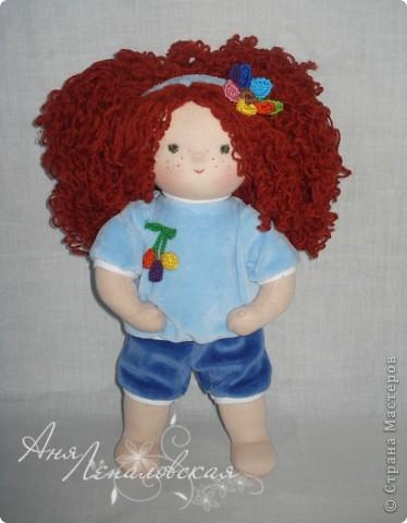 Кукла в пижамке)) фото 1