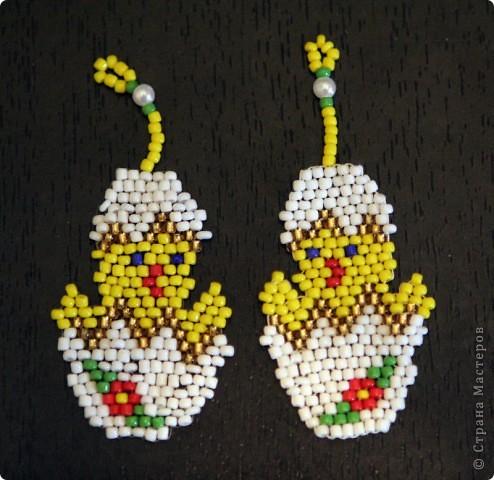 плетение кирпичным стежком фото 1