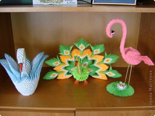 Птицы сделаны по мастер-классам, которые размещены на сайте. фото 1