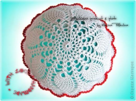Гардероб Вязание крючком Ажурная панамка для девочки Пряжа фото 2