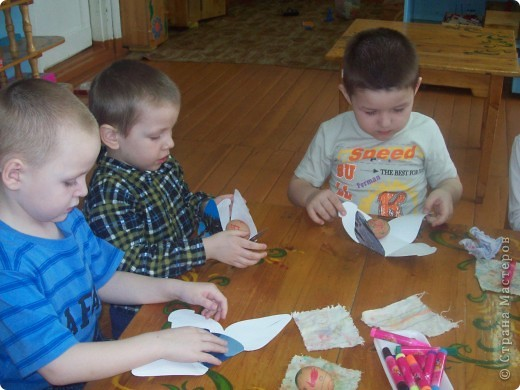 Вот такие замечательные коробочки с сюрпризом внутри смастерили наши детки-пятилетки! фото 5