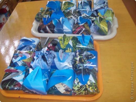 Вот такие замечательные коробочки с сюрпризом внутри смастерили наши детки-пятилетки! фото 6