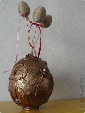 Пасхальные украшения. Детские работы. фото 1