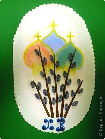 Наши пасхальные яйца, они многоэтажные. идею подсмотрела фото 6