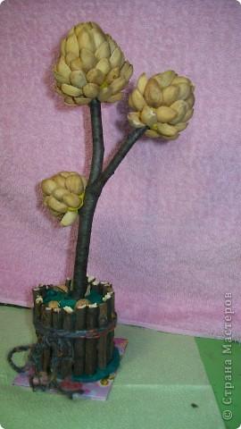 спасибо мастерицам!!! Заразили  деревьями, я пособирала дома весь биссер и сделала 3 дерева,зеленое золотое и красное.(у красного еще ствол не готов)Спасибо всем мастерицам за понятные МК.Желаю в дальнейшем им здоровья и творческих успехов фото 3