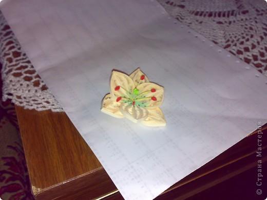 Моя попытка сделать лилию. фото 1