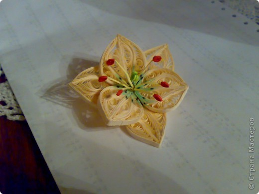 Моя попытка сделать лилию. фото 2