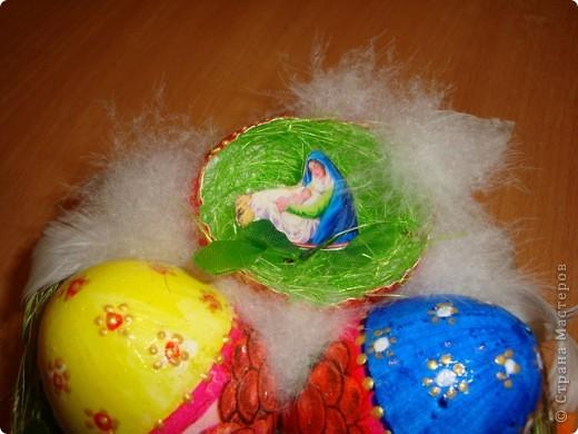 Сделали с внуком поделку к празднику Пасха  для школы..... фото 2