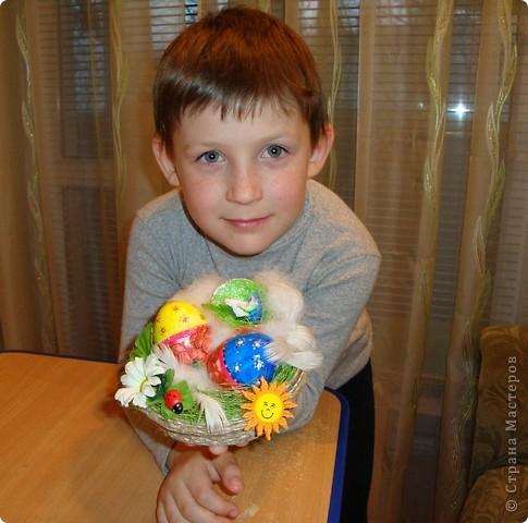 Сделали с внуком поделку к празднику Пасха  для школы..... фото 3