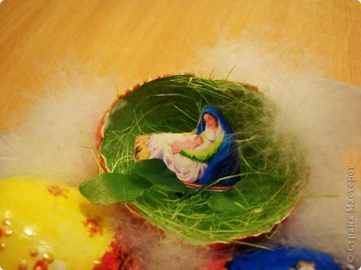 Сделали с внуком поделку к празднику Пасха  для школы..... фото 4