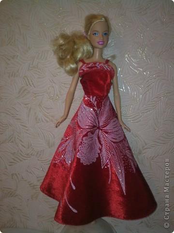 Вечерние платья для Барби фото 3