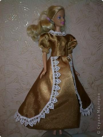 Вечерние платья для Барби фото 9