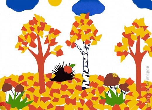Золотая осень в гости к нам пришла, много, много радости деткам принесла