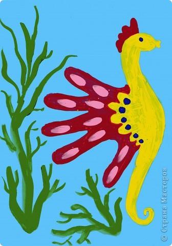 Жираф- ладошка фото 4