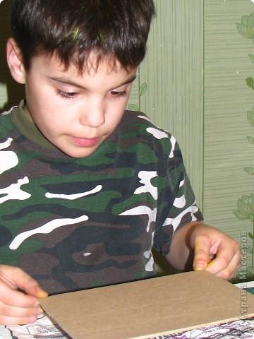 Насмотревшись на меня сын решил сделать свою, личную плетеночку для пасхи. Решил делать плетеночку по МК vista (http://stranamasterov.ru/node/59091?tid=451%2C302) спасибо ей большое! Из фоток дальше понятно, что он делал... фото 2