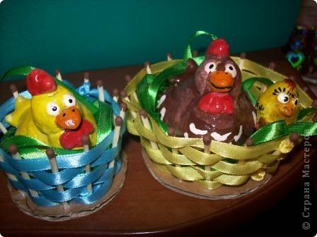 Курицы с цыпленком фото 1
