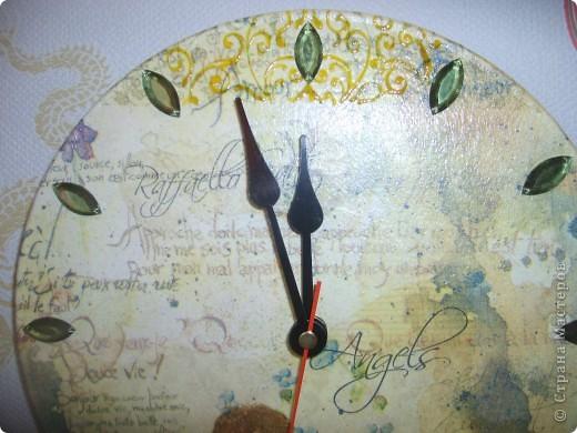Часы Ангелы.Декупаж. фото 3