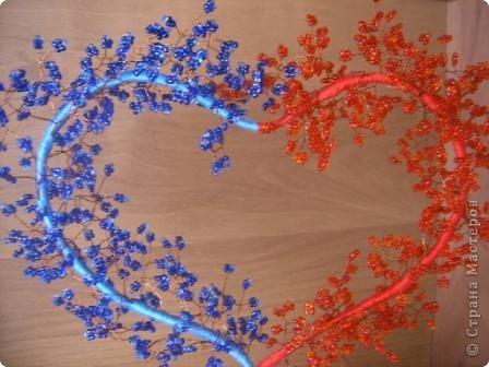 По МК Олисандры http://stranamasterov.ru/node/150505 сделали с дочерью своё дерево-сердце. Первый горшочек раскололся, во второй положили кусочки поролона, получилось. фото 2