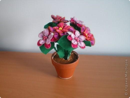 Первый раз делала цветы в технике ганутель, понравилось. Уже подарены хорошему человеку. фото 2