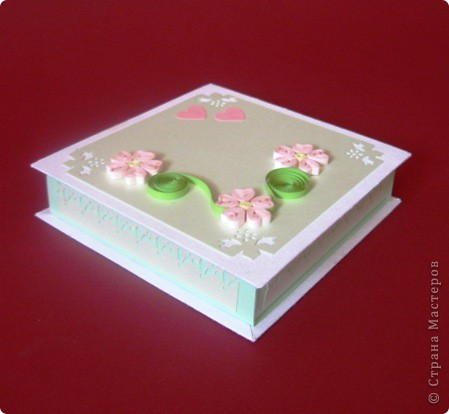 Такой комплектик родился для подарка на свадьбу.Открытка и , небезысвестная коробочка для денежки. фото 3