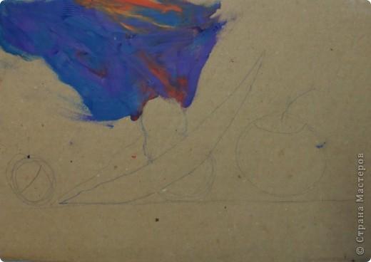 Натюрморт Макаровой Александры, 7л. Для выполнения натюрморта в  пластилиновой технике нам понадобился картон, пластилин и фантазия. фото 3
