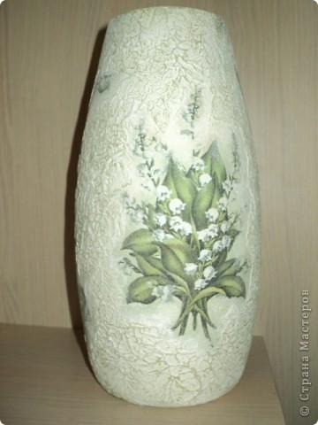 Новая жизнь старой вазы фото 1