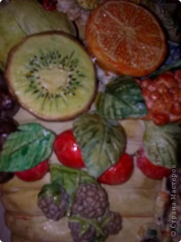 фрукты из соленого теста фото 1