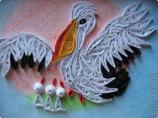 Попросили сделать пеликанчика (символ учителей) к последнему звонку. Вот такой у меня получился пеликан. Заказчикам понравился. фото 2
